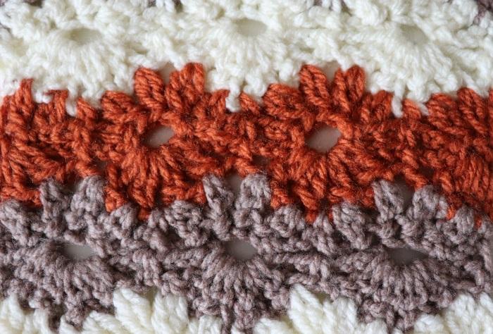 Crochet Petal Stitch Blanket / Beginner Friendly Tutorial