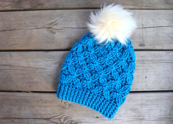 Crochet Easy Winter Hat / With Written Pattern