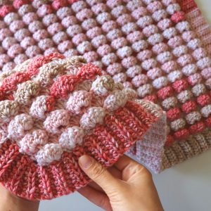 Crochet Candy Blanket / World's Easiest Blanket