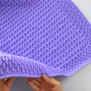 Crochet Simple And Fast Beginner Baby Blanket