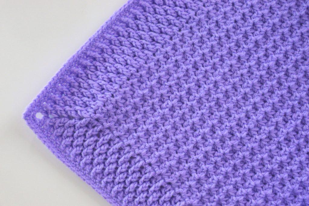 Crochet Simple And Fast Beginner Baby Blanket Sirin S Crochet