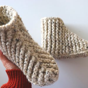 Crochet Beginner Boots / Slippers For Men And Women