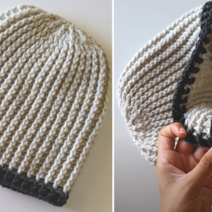 Crochet Classic Men's Hat / Beanie Tutorial