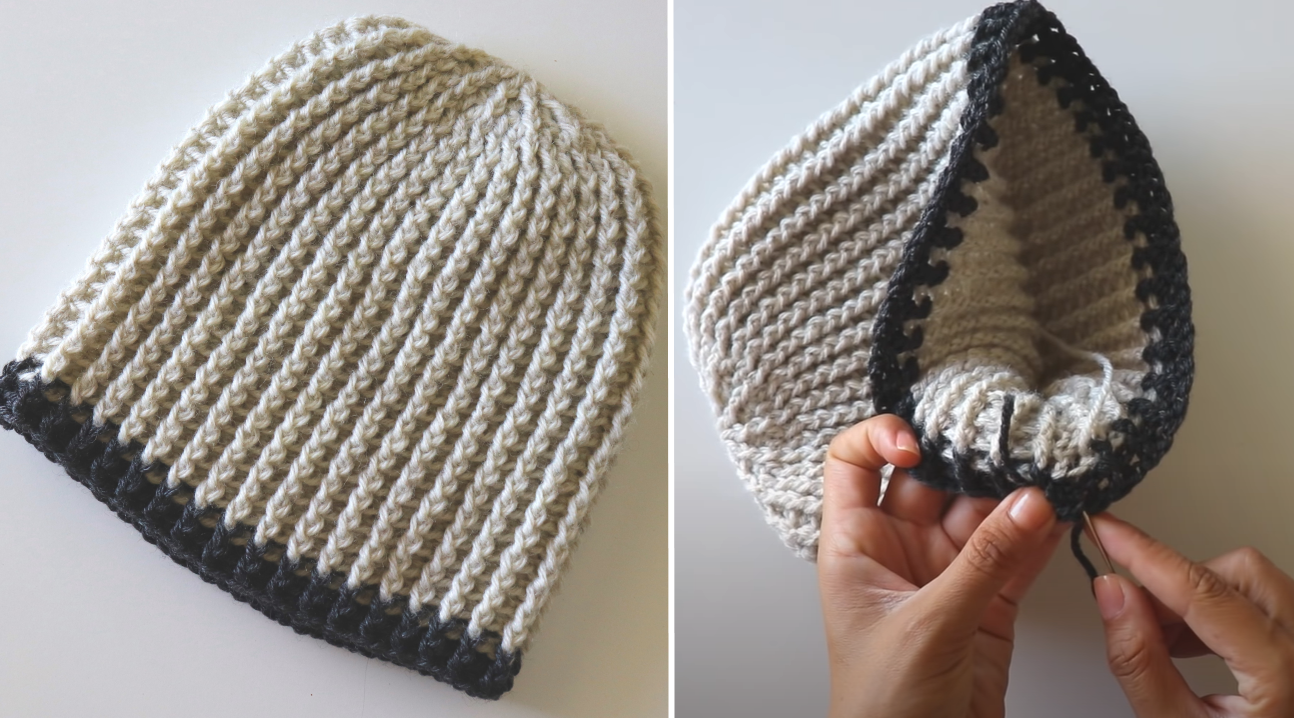 Crochet Classic Men's Hat / Beanie Tutorial