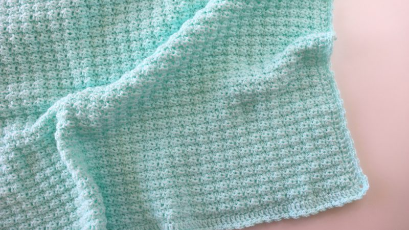 Crochet Fast And Simple Baby Blanket