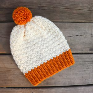 Crochet Simple Beginner Friendly Beanie Written Pattern