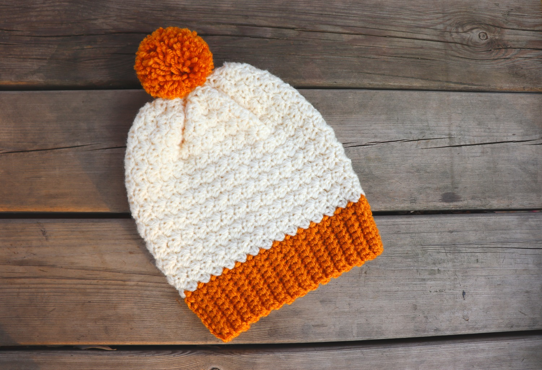 Crochet Simple Beginner Friendly Beanie Written Pattern