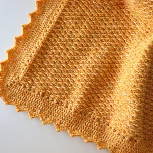 Crochet Elegant Blanket With Written Pattern