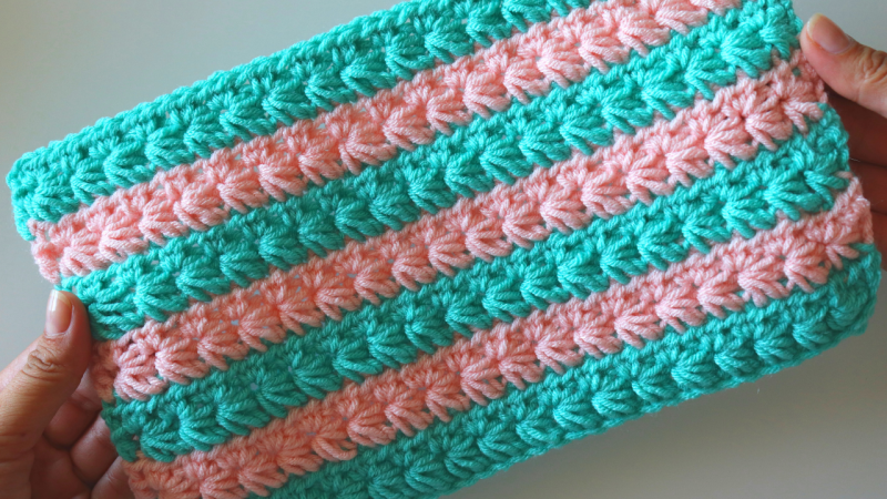 How To Crochet Star Stitch (With Written Pattern)