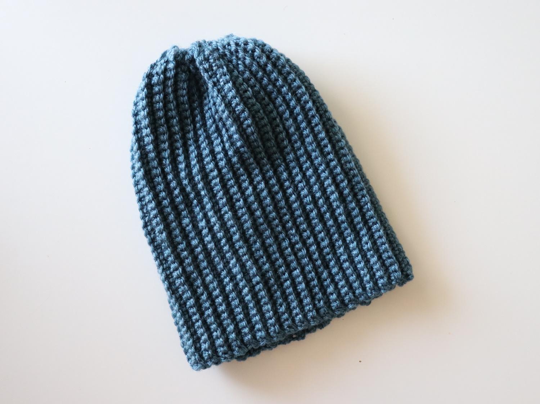 Crochet Simple Hat Tutorial With Written Pattern