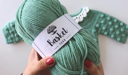 Crochet A Baby Cardigan