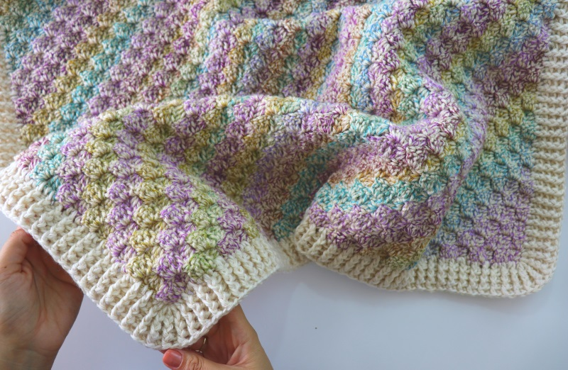 Crochet Corner To Corner Blanket Written Pattern