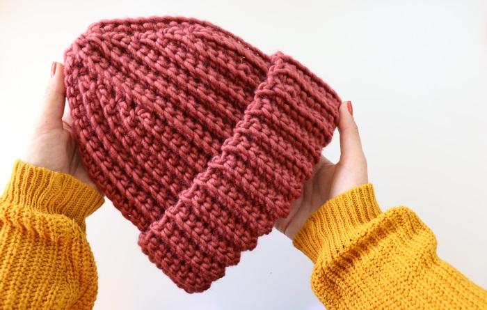 Crochet Russian Style Unisex Beanie/Hat Pattern
